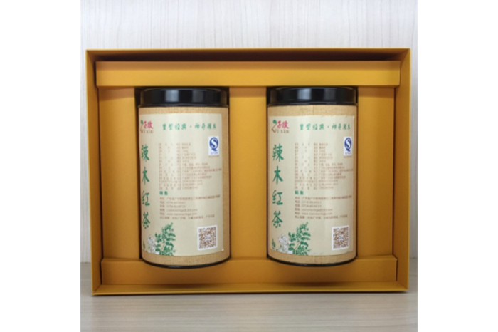 广宁特产 子欣 辣木茶红茶盒装