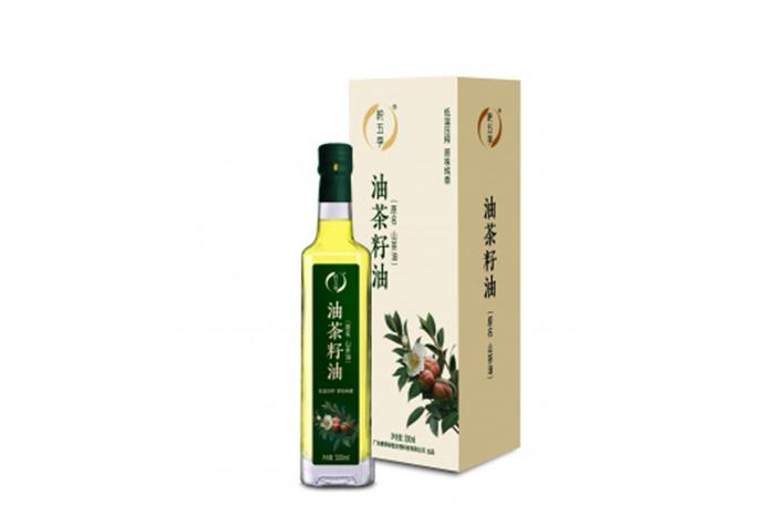 广宁特产 纯五季 油茶籽油盒装